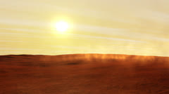 Mars Land Stock Footage