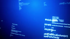 Coding Data Random - stock footage
