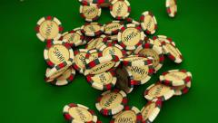Casino Series Coins 2 Stock Footage