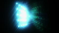 Lights Blue  Stock Footage