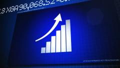 Finance Bar - stock footage