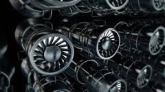 Dynamic Engine Stock Footage