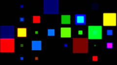 Disco squares 2 Stock Footage