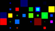 Stock Video Footage of Disco squares 2