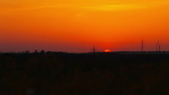 Stock Video Footage of sunrise