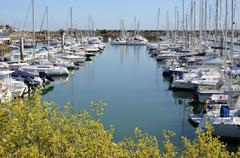 Port of Pornichet in France Stock Photos