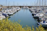 Stock Photo of Port of Pornichet in France