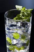 Stock Photo of green mojito cocktail