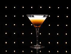 coffee martini - stock photo
