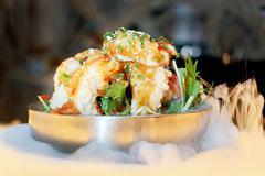 Crispy shrimp Stock Photos