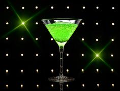 Apfel martini Stock Photos