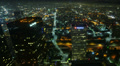 4K Night Cityscape Timelapse 165 Los Angeles Freeway Traffic Loop 4k or 4k+ Resolution
