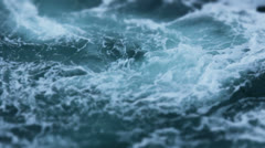 Swirling Foamy Ocean Sea Water - 25FPS PAL - stock footage