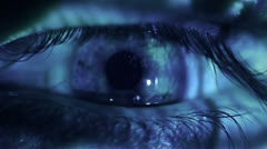 Stock Video Footage of Human eye