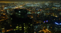 4K Night Cityscape Timelapse 171 Los Angeles Freeway Traffic R Footage