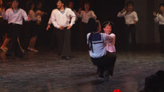 Dance of Soviet sailors Stock Footage