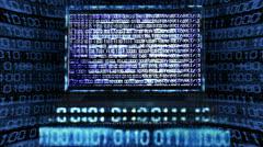 Computer bug Stock Footage