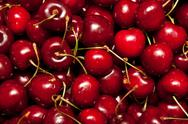 Stock Photo of red cherries