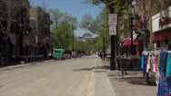 Stock Video Footage of State Street 500 Block -Madison, WI