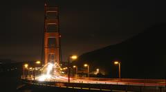 Golden Gate Bridge Time-lapse Stock Footage