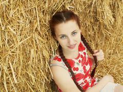 Redhead - stock photo