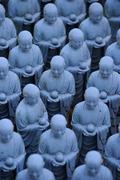 Jizo statue in Enoshima, Japan Stock Photos