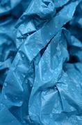 Wet Plastic - stock photo