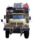 Vanha Expedition Truck Kuvituskuvat