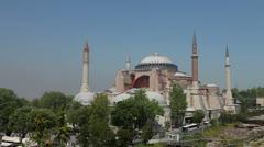 Ayasofya, Istanbul, turkey Stock Footage