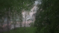 Stock Video Footage of raindrops