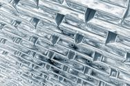 Stock Illustration of Stacked platinum bars