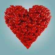 Hearts. - stock illustration