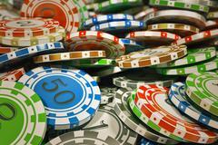Casino chips. Stock Illustration
