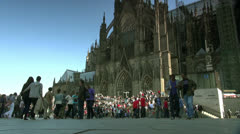 Germany Cologne Cathedral - stock footage