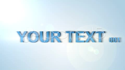 After Effects Project - Pond5 Clean Text Animation 23528974