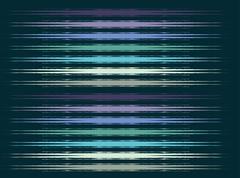 blue background ringer line vector art - stock illustration