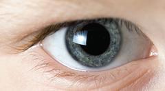 Close up eye - stock photo