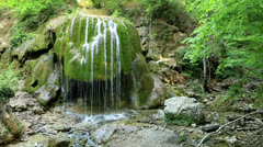 Waterfall Silver Jets,  Stock Footage