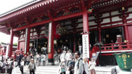 Stock Video Footage of Tokyo Asakusa Senso Ji Temple Japan 3