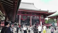 Stock Video Footage of Tokyo Asakusa Senso Ji Temple Japan 10
