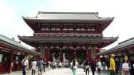 Stock Video Footage of Tokyo Asakusa Senso Ji Temple Japan 11