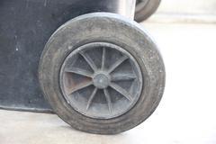 Old wheel barrow. Stock Photos