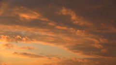 Dramatic Clouds at Sunset, Timelapse, Time Lapse, Landscape - stock footage