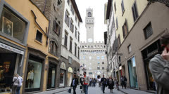 Florence view Stock Footage