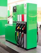 Gasoline pump Stock Photos