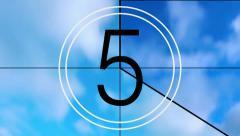 Countdown Clock - stock footage