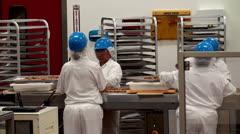 Work at Ethel M Chocolate Factory. Las Vegas, Nevada, USA. Stock Footage