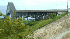 Bridge Time lapse Stock Footage