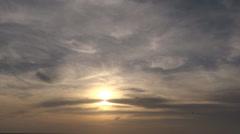 Sky and birds Stock Footage