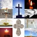 Stock Illustration of Religion Collage